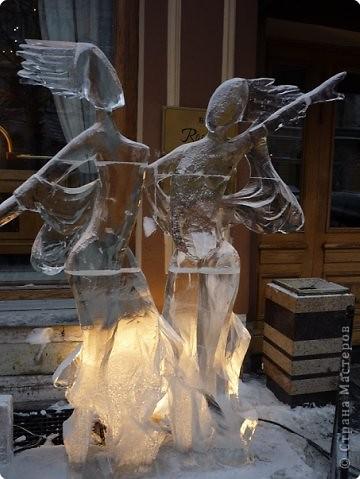 Ледяные скульптуры в СПб фото 14