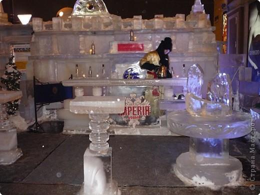 Ледяные скульптуры в СПб фото 9