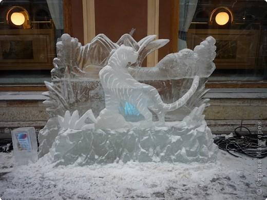 Ледяные скульптуры в СПб фото 15