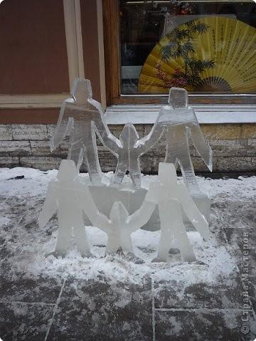 Ледяные скульптуры в СПб фото 16