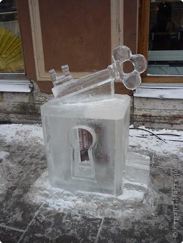 Ледяные скульптуры в СПб фото 6