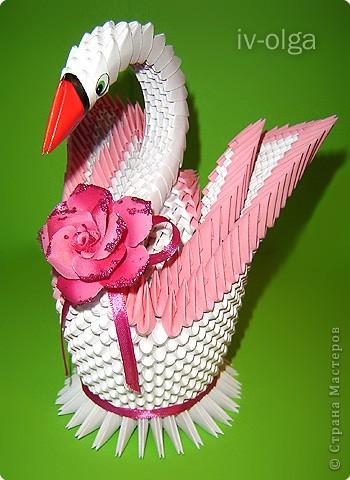В ответ на многочисленные вопросы по изготовлению двойного лебедя подготовила МК, который основан на МК Елены. фото 1