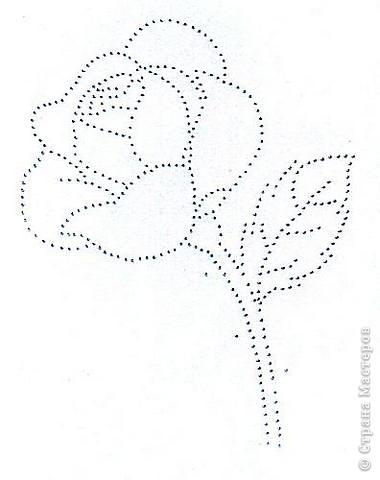 Изонить розы схемы