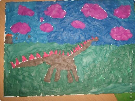Динозаврик Ярослава (7лет) фото 2