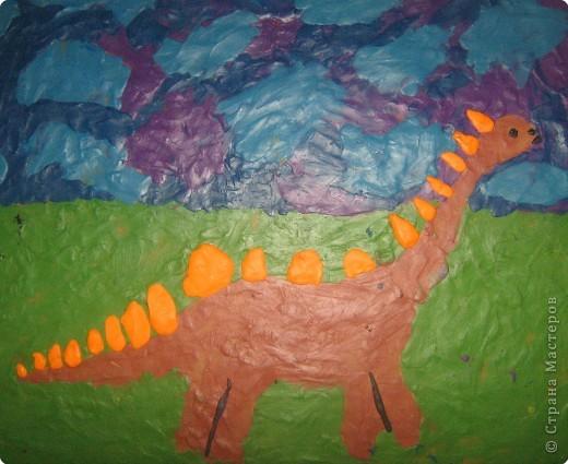 Динозаврик Ярослава (7лет)