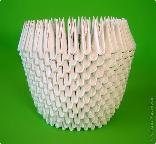 Мастер-класс Оригами китайское модульное Мастер-класс двойного лебедя Бумага фото 7