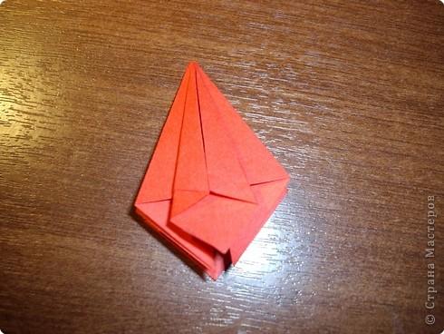 Кусудама Мастер-класс День рождения Оригами кусудама Розочка+МК Бумага фото 10