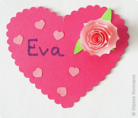 Почтовый ящик для валентинок и валентинки в детский сад. фото 7