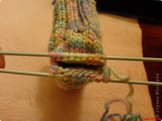 Вязание: Самые простые пинетки. МК. фото 10