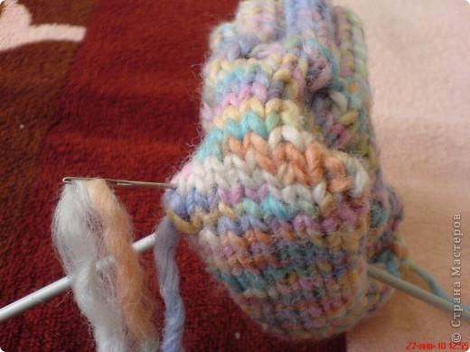 Вязание: Самые простые пинетки. МК. фото 11