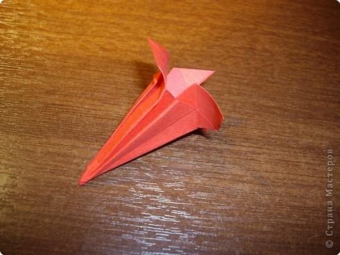 Кусудама Мастер-класс День рождения Оригами кусудама Розочка+МК Бумага фото 12