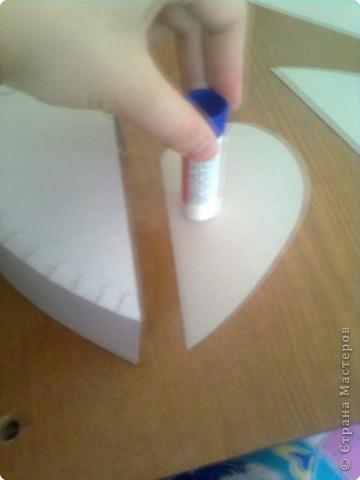 Мастер-класс День матери Подарочная коробочка в форме сердца фото 12