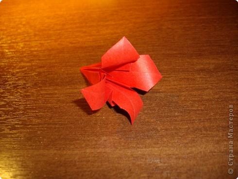 Кусудама Мастер-класс День рождения Оригами кусудама Розочка+МК Бумага фото 13