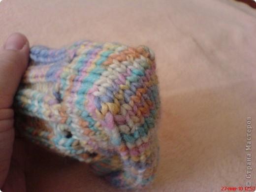 Вязание: Самые простые пинетки. МК. фото 12