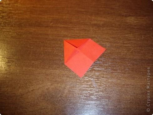 Кусудама Мастер-класс День рождения Оригами кусудама Розочка+МК Бумага фото 14