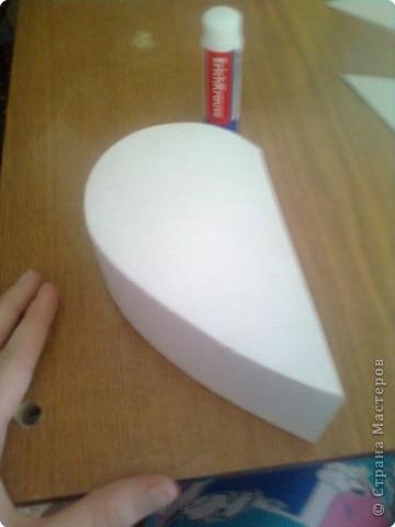 Подарочная коробочка в форме сердца фото 14