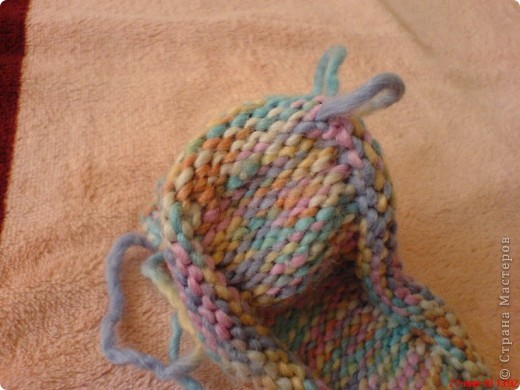 Вязание: Самые простые пинетки. МК. фото 13