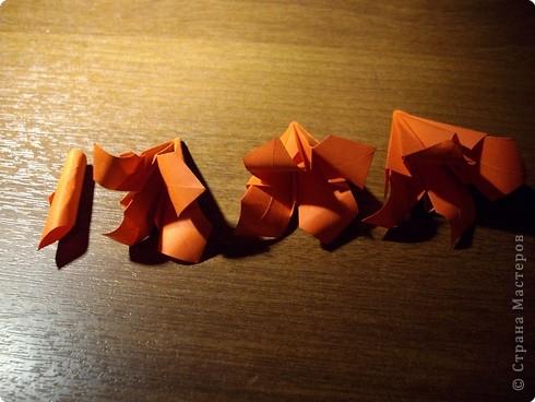 Кусудама Мастер-класс День рождения Оригами кусудама Розочка+МК Бумага фото 16