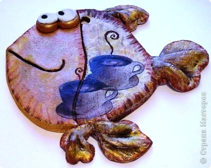 Мастер-класс Лепка Рыбы и обещанный МК  Кофе Тесто соленое фото 14