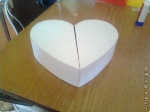 Мастер-класс День матери Подарочная коробочка в форме сердца фото 20