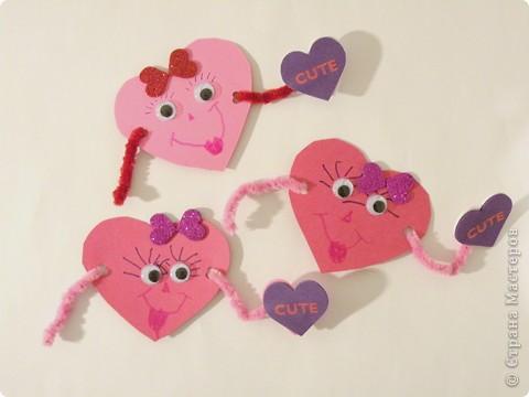 Почтовый ящик для валентинок и валентинки в детский сад. фото 9
