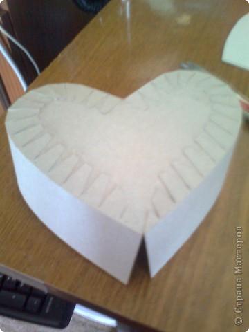 Мастер-класс День матери Подарочная коробочка в форме сердца фото 27
