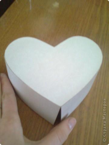 Подарочная коробочка в форме сердца фото 29