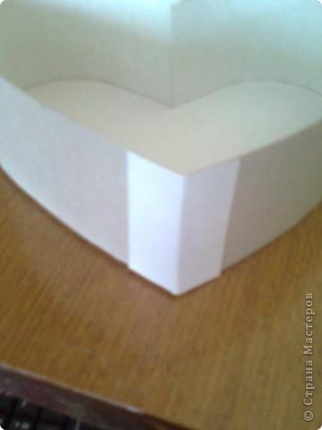 Мастер-класс День матери Подарочная коробочка в форме сердца фото 32