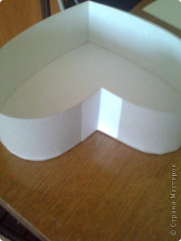 Подарочная коробочка в форме сердца фото 33