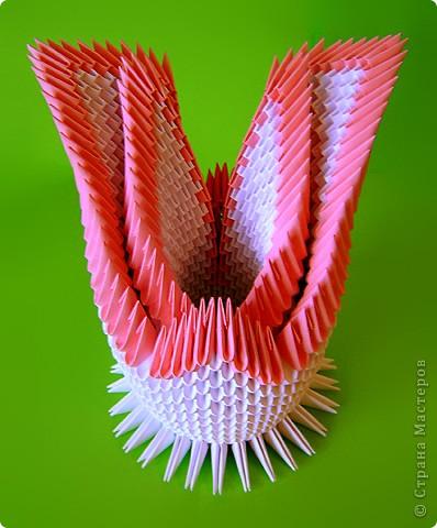 Мастер-класс Оригами китайское модульное Мастер-класс двойного лебедя Бумага фото 34