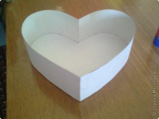 Подарочная коробочка в форме сердца фото 37