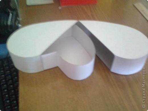 Подарочная коробочка в форме сердца фото 38