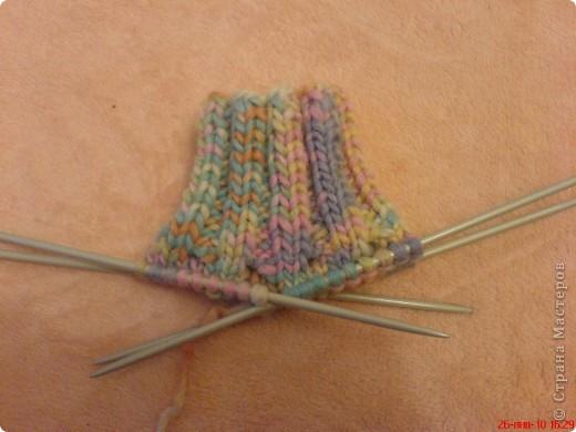 Вязание: Самые простые пинетки. МК. фото 3