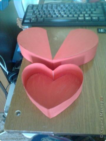 Подарочная коробочка в форме сердца фото 40