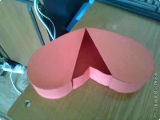 Подарочная коробочка в форме сердца фото 41