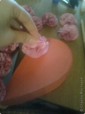 Мастер-класс День матери Подарочная коробочка в форме сердца фото 44