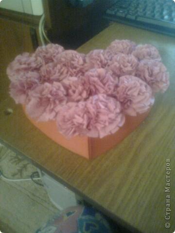 Подарочная коробочка в форме сердца фото 45