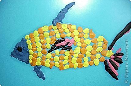 Охраняет подводный мир Водяной, сделанный учениками 4 класса. фото 4