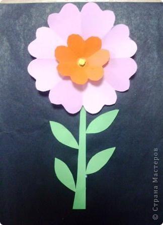 Декоративный цветок фото 1