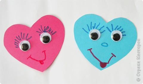 Почтовый ящик для валентинок и валентинки в детский сад. фото 6