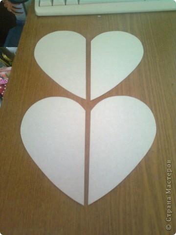 Мастер-класс День матери Подарочная коробочка в форме сердца фото 5
