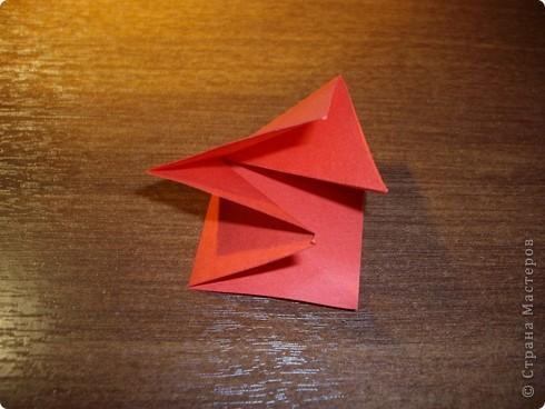 Кусудама Мастер-класс День рождения Оригами кусудама Розочка+МК Бумага фото 5