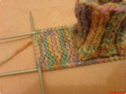 Вязание: Самые простые пинетки. МК. фото 5