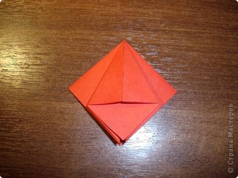 Кусудама Мастер-класс День рождения Оригами кусудама Розочка+МК Бумага фото 6