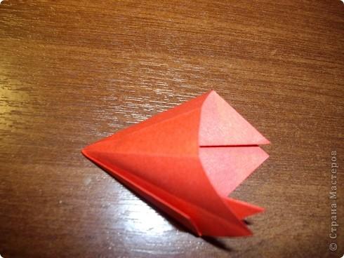 Кусудама Мастер-класс День рождения Оригами кусудама Розочка+МК Бумага фото 7