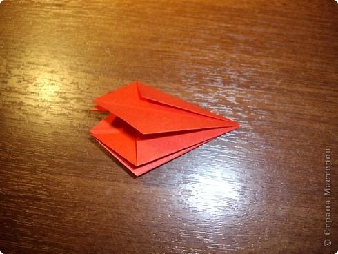 Кусудама Мастер-класс День рождения Оригами кусудама Розочка+МК Бумага фото 8