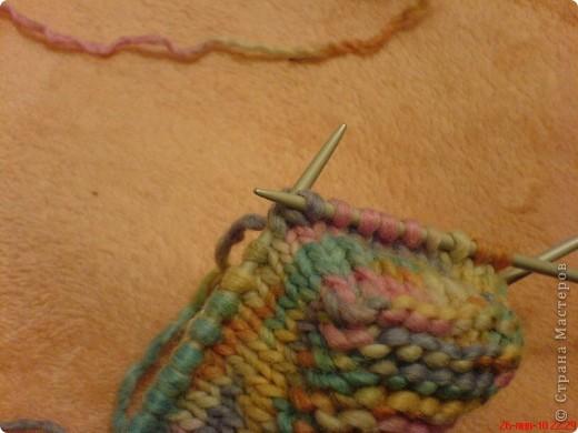 Вязание: Самые простые пинетки. МК. фото 7