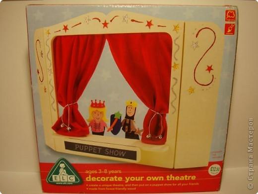 Ширма театр своими руками для детей 15