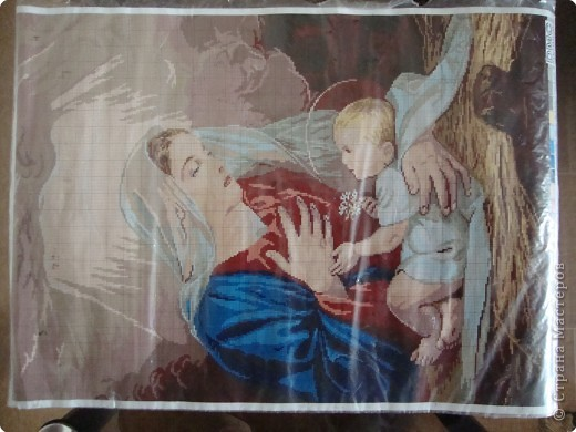 Картина панно рисунок Рождество Бисероплетение бисер Бисер фото 2.