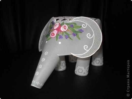 По просьбе участников сайта МК слоник .Хотела показать сокращенно как делать слоника, да так увлеклась что у моего слоненка появилась мама. фото 18